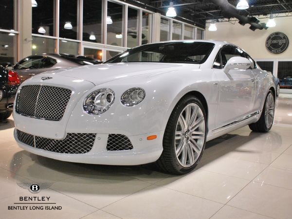 white New Continental GT Speed image