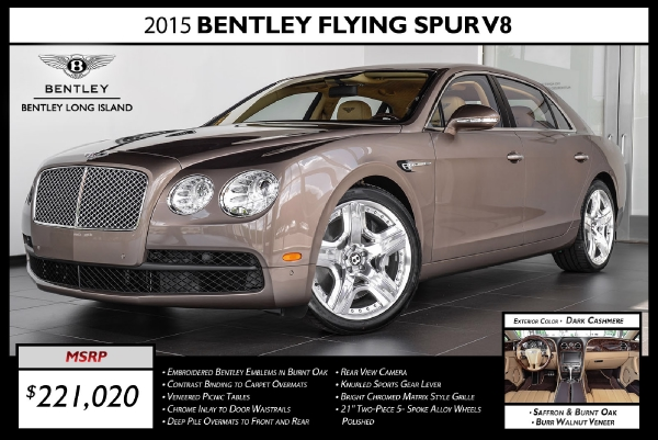2015 Bentley Flying Spur V8 - Rolls-Royce Motor Cars Long Island ...
