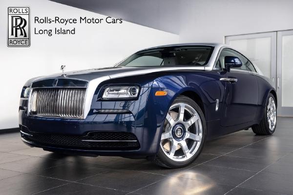 2015 Rolls Royce Wraith Rolls Royce Motor Cars Long