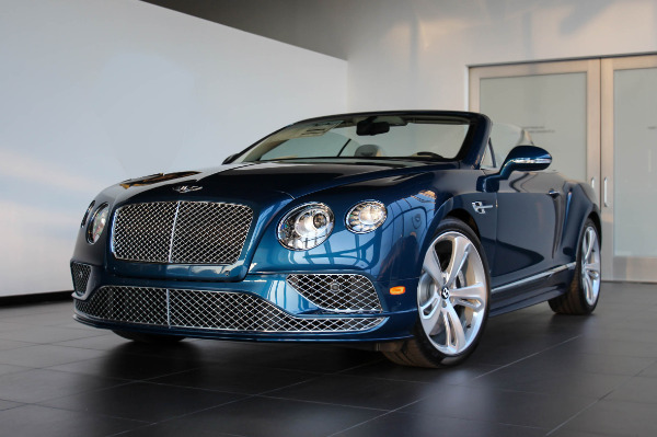 2016 Bentley Continental Gt Speed Convertible Rolls