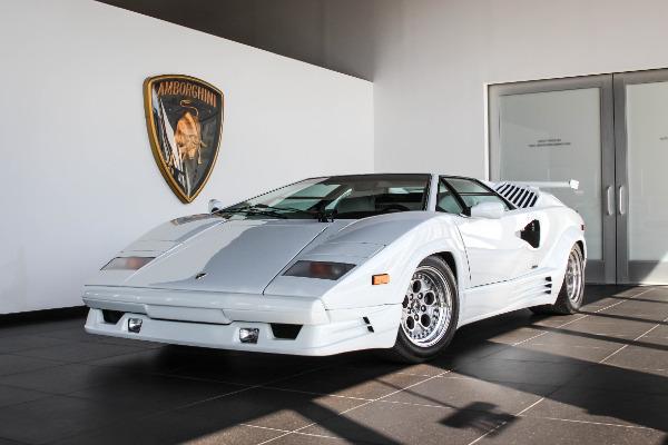 1990 Lamborghini Countach 25th Anniversary Rolls Royce Motor Cars