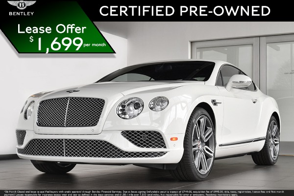2016 Bentley Continental GT V8 V8 Mulliner