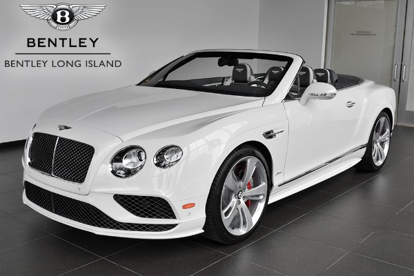 2017 Bentley Continental GT Speed Convertible