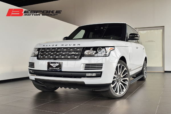 2016 Land Rover Range Rover 50l Supercharged Sv Autobiography Lwb