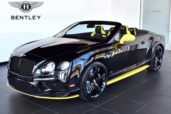 2017 Bentley Continental GT V8 S Convertible Mulliner Black Edition