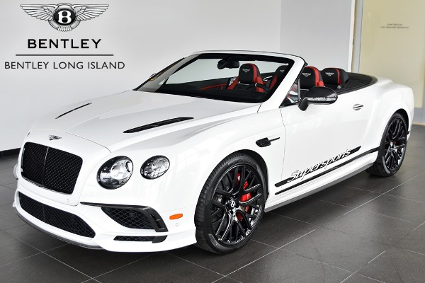 2018 Bentley Continental Supersports Convertible Rolls Royce Motor Cars Long Island New