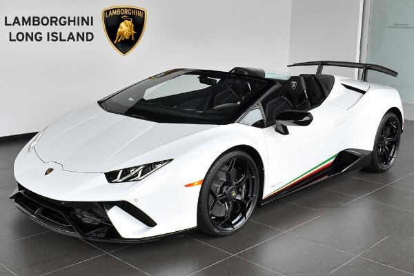 2019 Lamborghini Huracan Performante Spyder