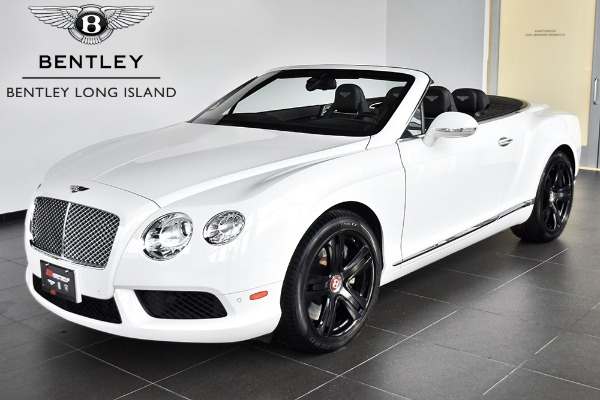 2013 Bentley Continental GT V8 Convertible GT V8