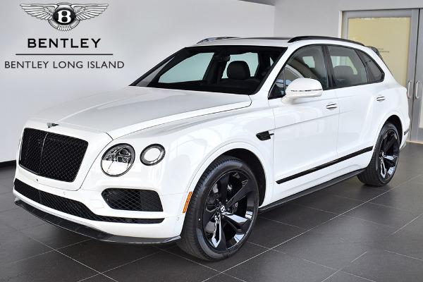 2019 Bentley Bentayga V8 Black Specification Rolls Royce