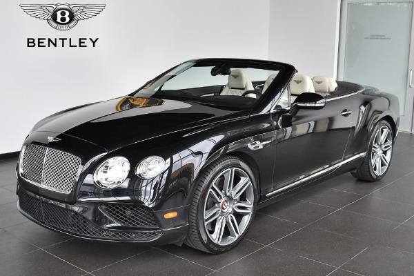 2016 Bentley Continental GT V8 Convertible GT V8