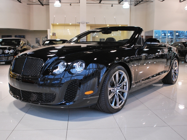 2011 Bentley Continental Supersports Rolls Royce Motor Cars Long