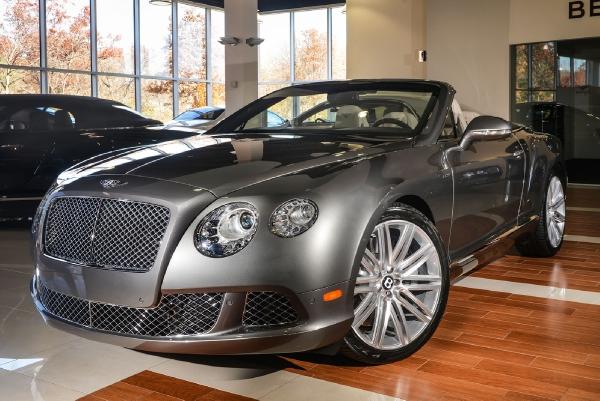2014 Bentley Continental GT Speed Convertible - Rolls-Royce Motor ...